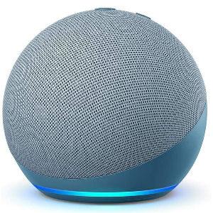 Altavoz Alexa azul