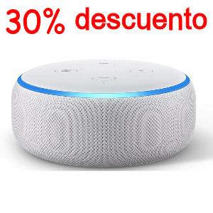 Altavoz Alexa blanco