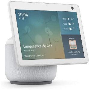 Altavoz Alexa blanco con pantalla inteligente Echo Show 10