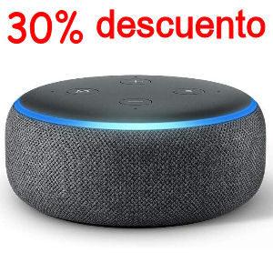 Altavoz Alexa con 30% de descuento