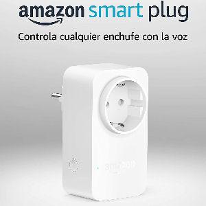 Amazon smart plug, enchufe inteligente Amazon compatible con Alexa