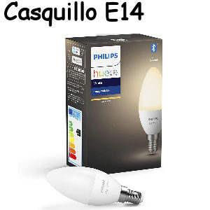 Bombilla inteligente wifi E14 Philips Hue