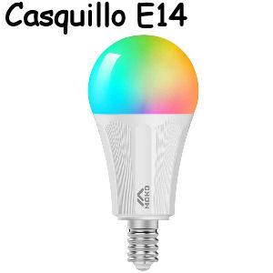 Bombilla wifi LED E14 compatible con Alexa y Google Home