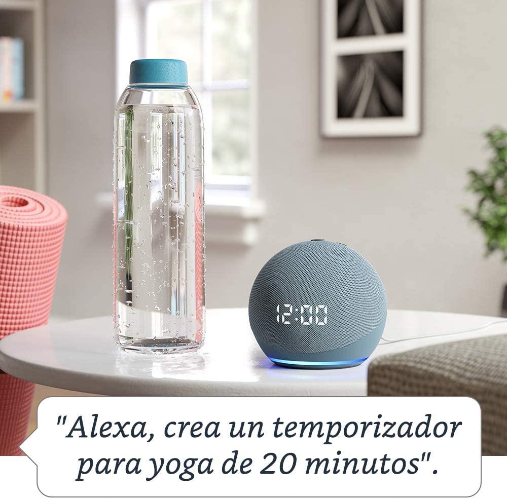 Crear alarmas con la voz en el asistente Alexa