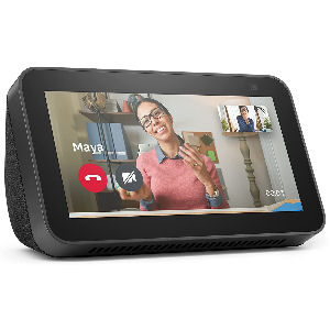 Pantalla Alexa Echo Show 5 de 2ª generación con cámara de 2 MP y asistente virtual Alexa