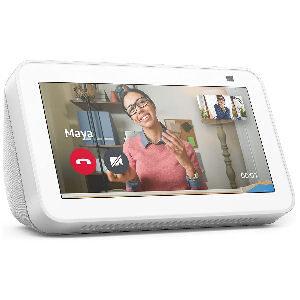 Pantalla Alexa blanca Echo Show 5 de 2ª generación con cámara de 2 MP y asistente virtual Alexa