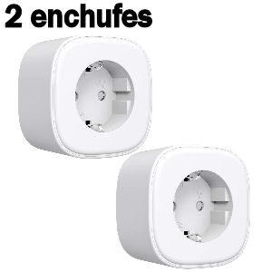 Set de 2 enchufes inteligentes con wifi